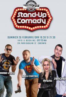 Stand Up Comedy cu Anisia, Serghei, Nelu Cortea si Mane Voicu la Racing Pub