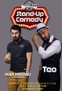 Stand Up Comedy - Teo si Alex Mocanu la Racing Pub Constanta