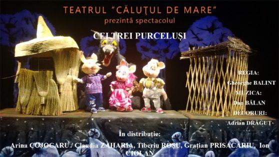 Cei Trei Purcelusi la Teatrul pentru Copii si Tineret Calutul de Mare