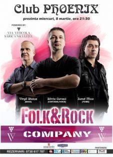 Concert Folk & Rock Company la Phoenix Club