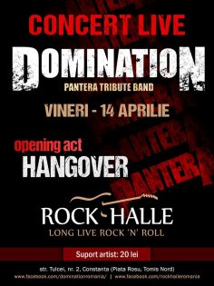 Domination (Tribut Pantera) Live la Rock Halle