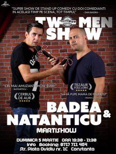 Stand Up Comedy cu Badea si Natanticu la Racing Pub Constanta