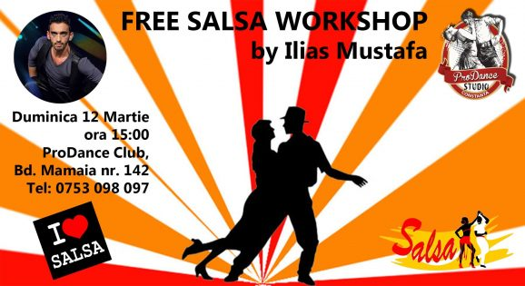 Workshop gratuit de Salsa la Prodance
