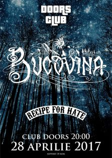 Concert Bucovina & Recipe for Hate la Club Doors Constanta