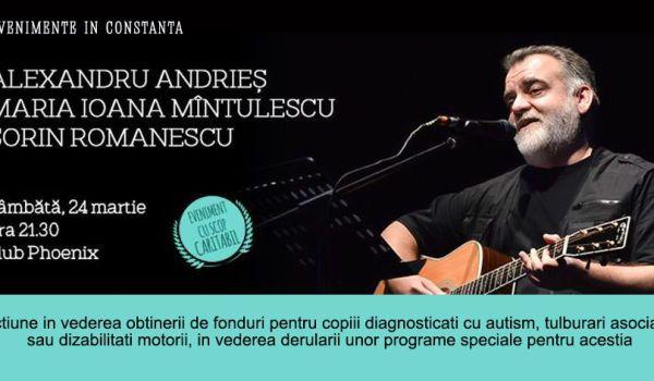 Concert caritabil Alexandru Andries