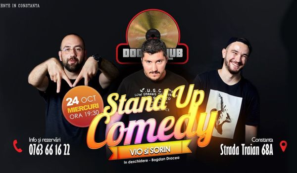 Stand Up Comedy cu Vio Sorin