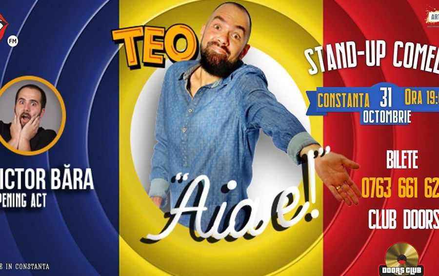 Stand up comedy cu Teo