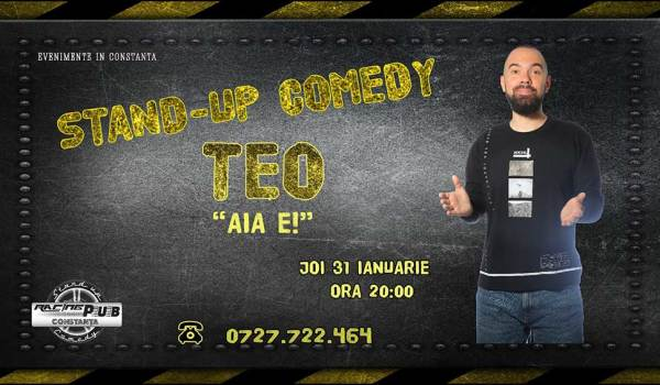 stand up comedy teo