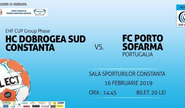 HC Dobrogea Sud vs FC Porto Sofarma