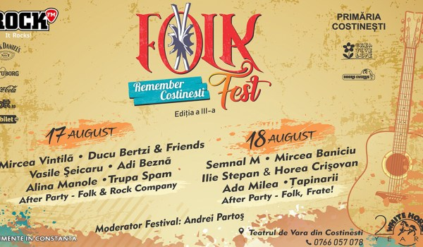 Folk Fest Remember Costinesti 2019