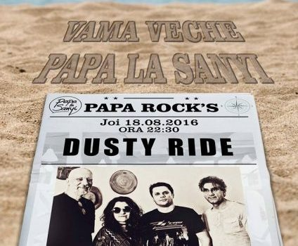 Dusty Ride at Papa La Sonyi Vama Veche