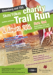 Steenberg and TSG Trail Run