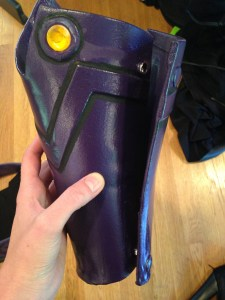 Leg Armor Back - Click to Enlarge
