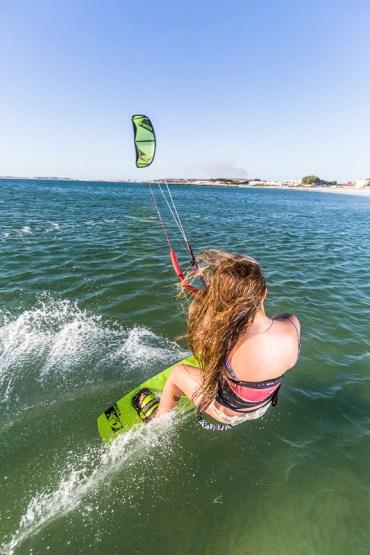 Kitesurfing lesson langebaan