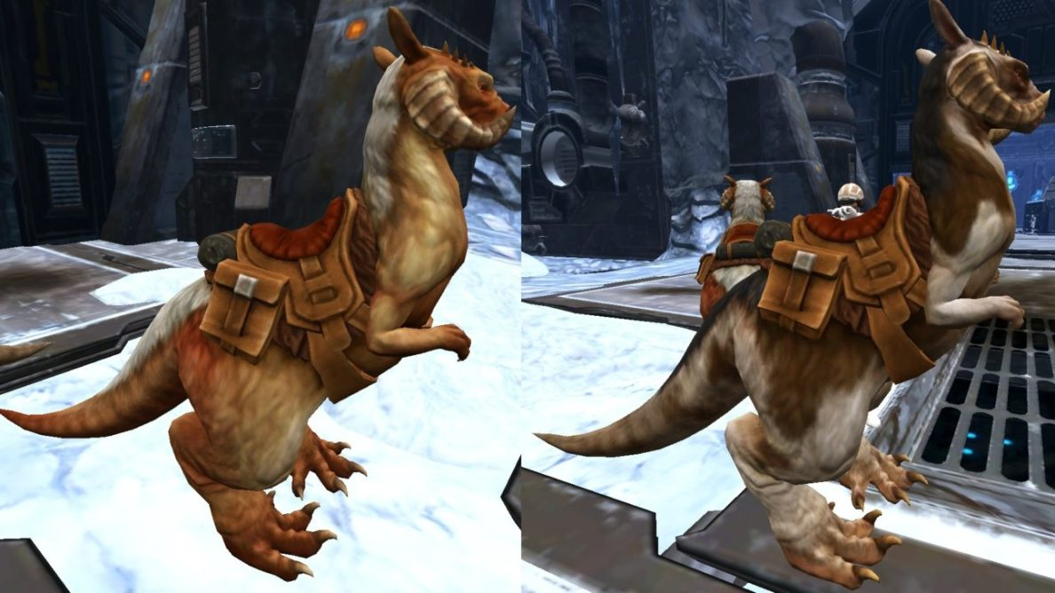Tauntaun mount guide