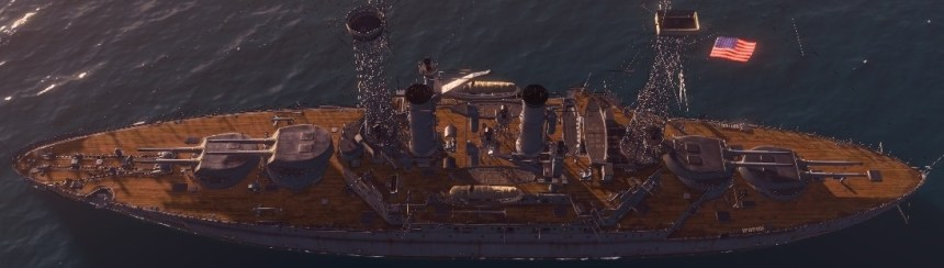 world of warships south carolina battleship