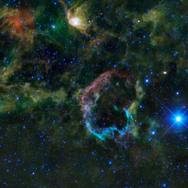 Jellyfish Nebula – IC 443 | Constellation Guide