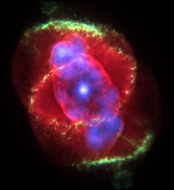 Cats Eye Nebula NGC 6543 Constellation Guide