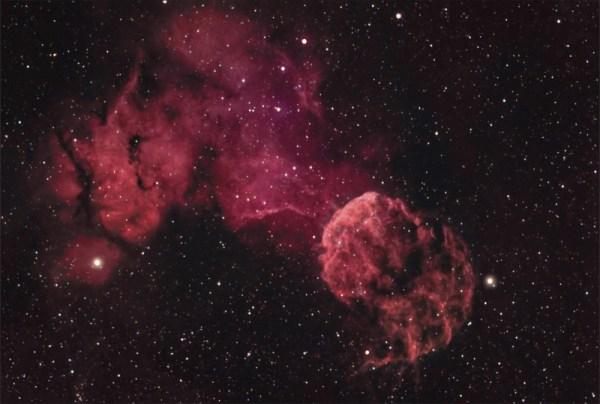 Jellyfish Nebula | Constellation Guide