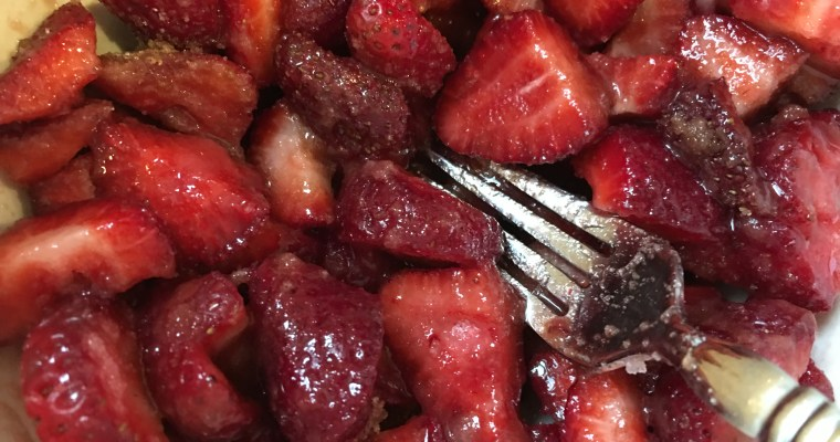 Too Many Strawberries Recipe for Jam