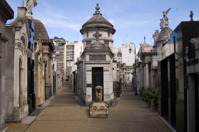 Tesoros arquitectónicos de Buenos Aires. Cementerio de la Recoleta