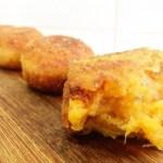 croquetas de auyama y queso