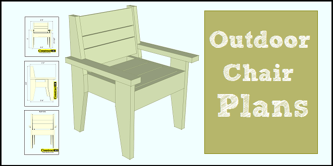 easy to build outdoor chair pdf