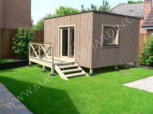 maisons de jardin en bois en kit