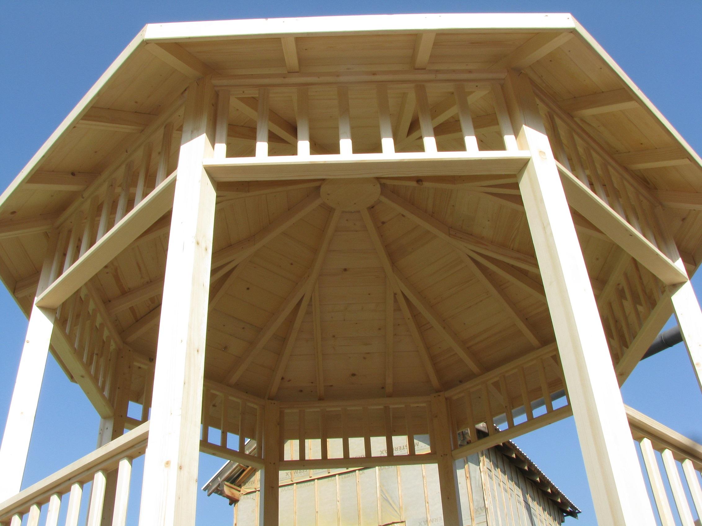 kiosques bois sans permis de construire