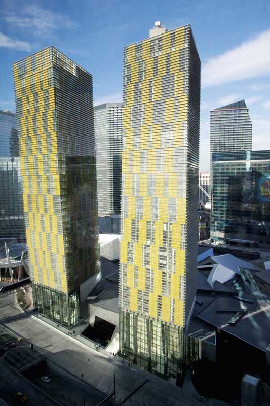The Leaning Towers Of Vegas Engineering The Veer Towers Construction Canada
