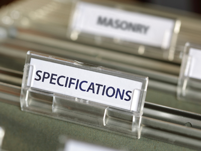 Standards For Specifications Masterformat Sectionformat