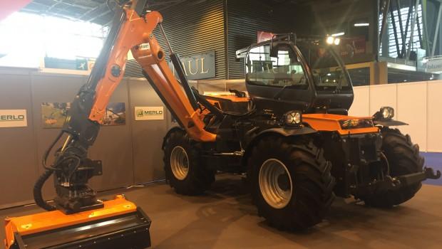 Merlo Tend Sa Gamme De Tracteurs TRE EMME Construction