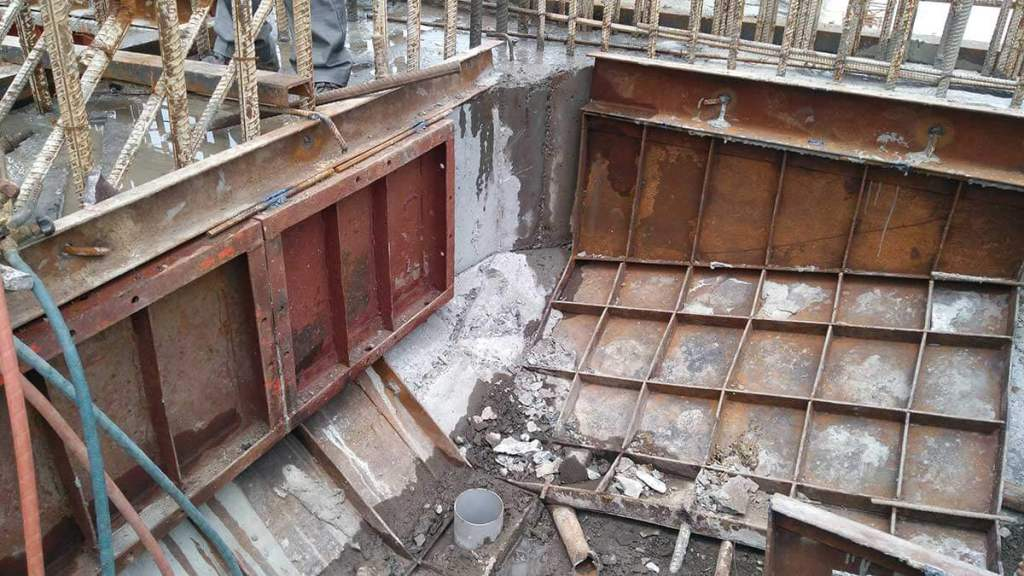 Removal of Formwork and Inspection