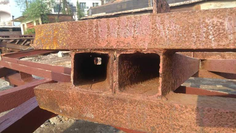 Rusting of Iron Rebar in Concrete – Special Repairing