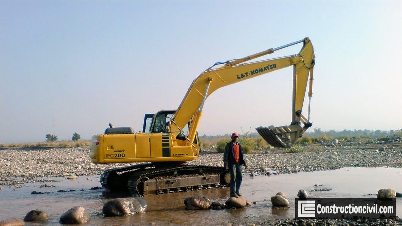 Construction Equipment - Excavator