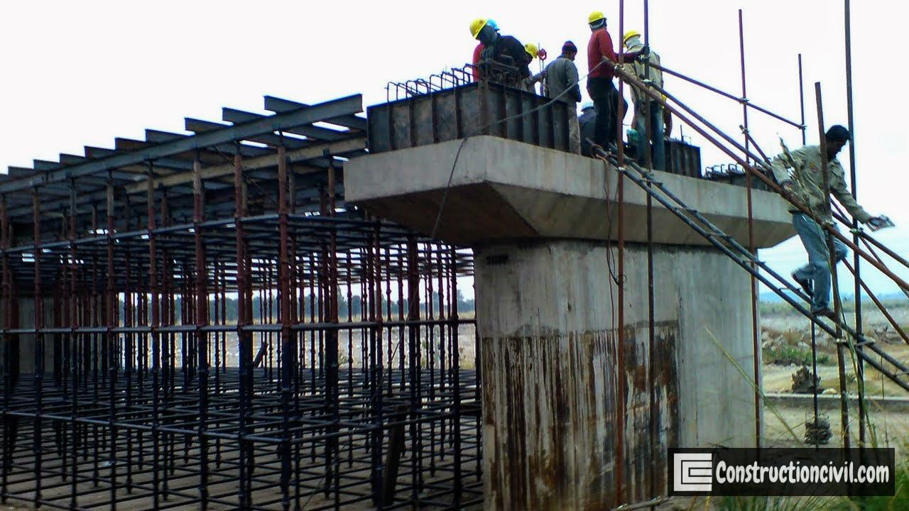 Pier Pedestal Concreting