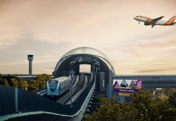 Luton airport rail link plan