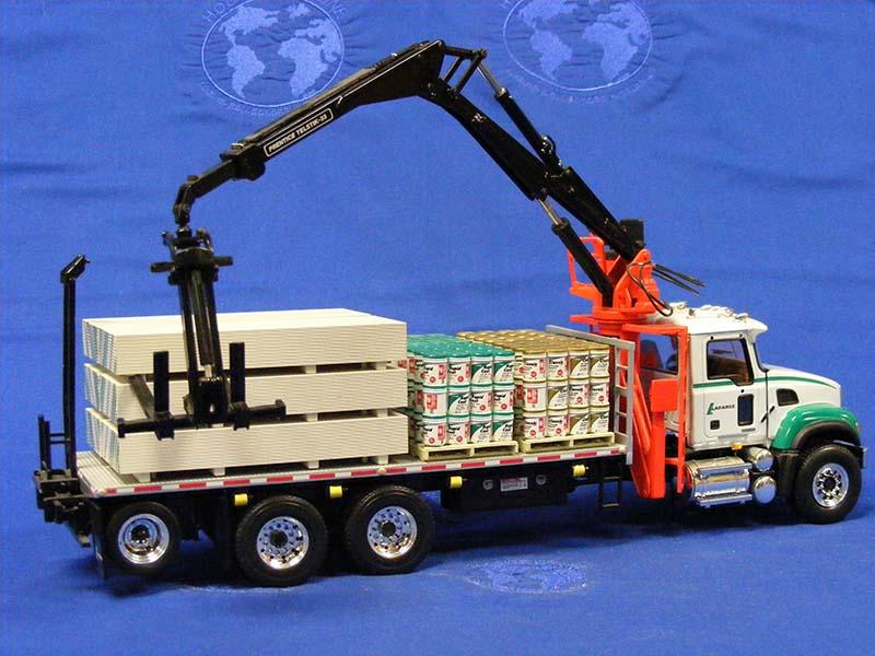 Buffalo Road Imports. Mack Granite boom truck with load ... on Granite Models  id=72151