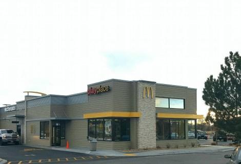 McDonald's Remodel in Rexburg