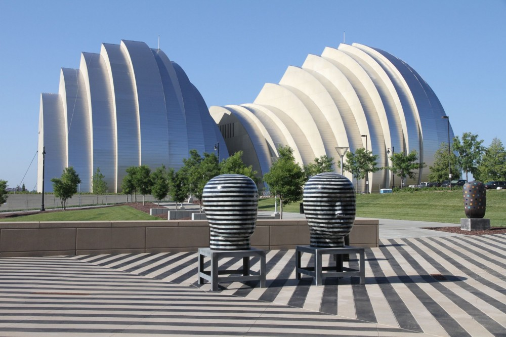 For the Kauffman Center, form meets function—curves are both expressive aesthetic and carefully considered acoustic component.