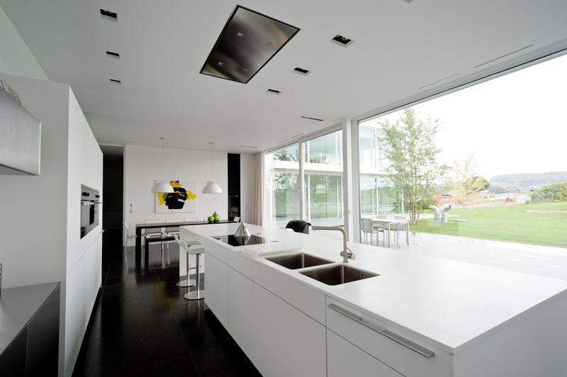 Design Pur Pour Maison Contemporaine Belge Aux Lignes