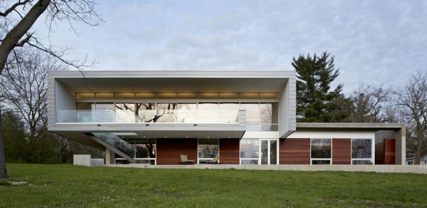 Riverview House Par Studio Dwell Architects Wayne Usa