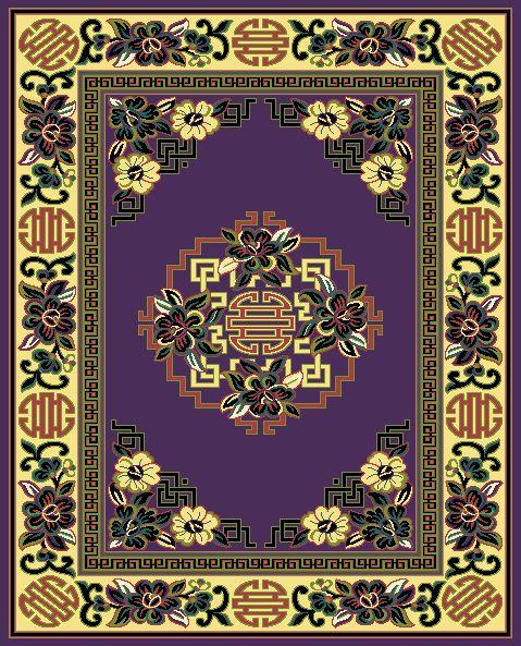 face to face woven pile carpet