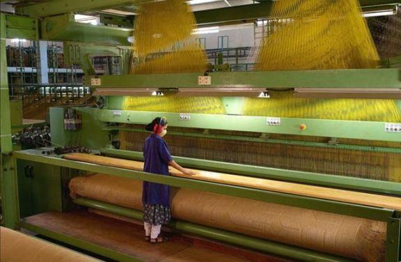 flat design carpet weaving machine
