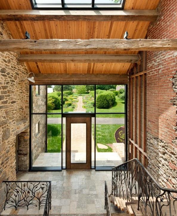 Resultado de imagen para casas con piedra y hierro