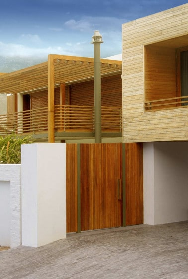 Planos de casa de dos pisos construida en terreno cuadrado ...