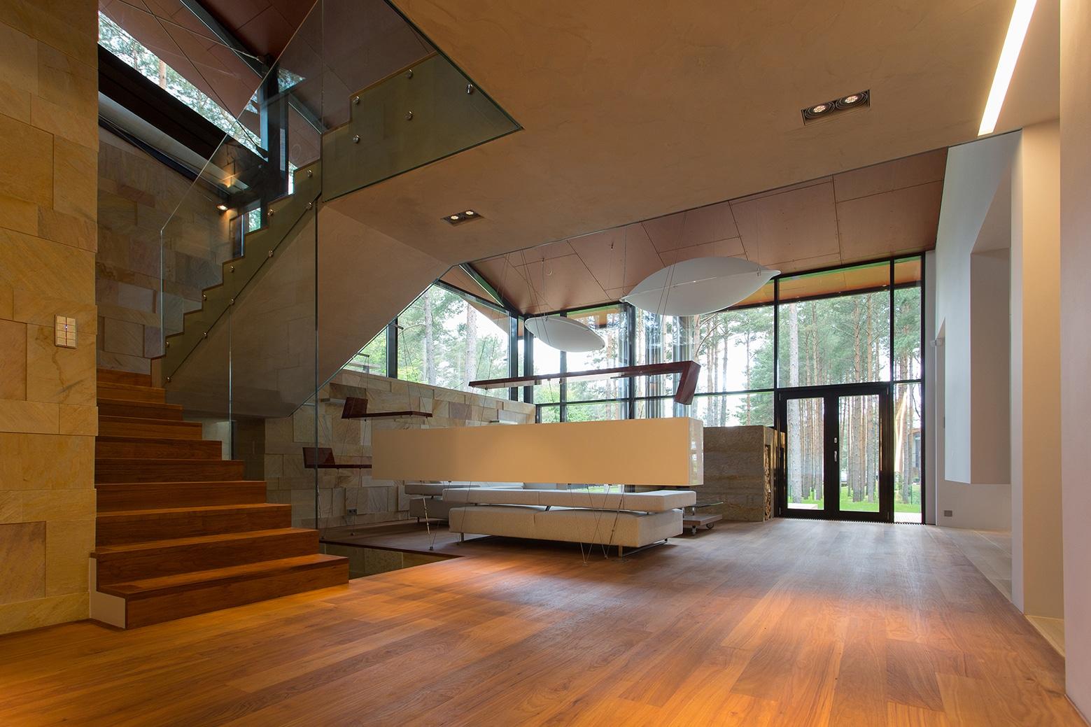 Casa de campo con planos, diseño de fachada e interiores on Interiores De Casas Modernas  id=18041