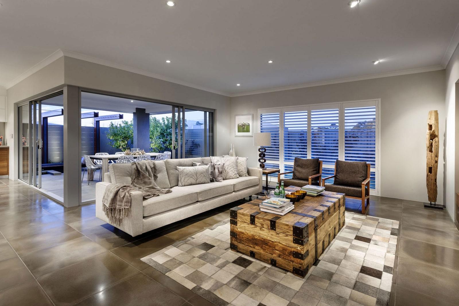 Diseño de casa moderna de dos pisos, fachada e interiores on Interiores De Casas Modernas  id=20010