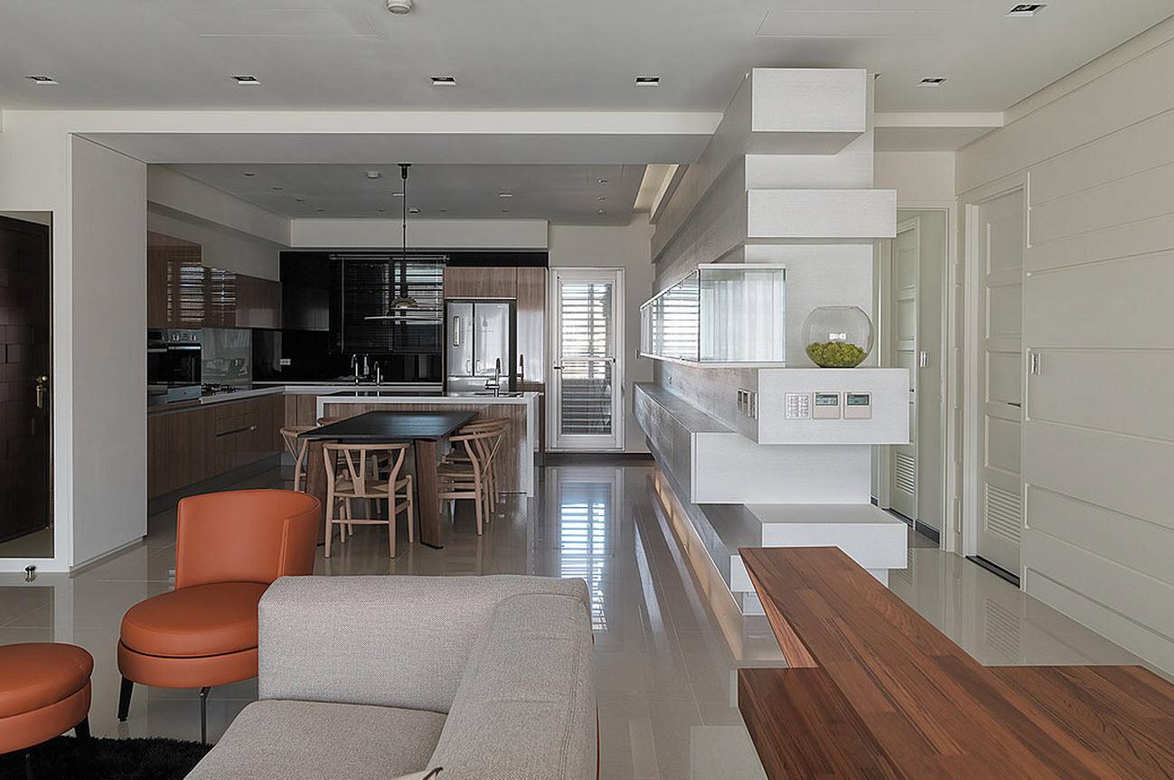 Plano y diseño de casa pequeña, interiores on Interiores De Casas Modernas  id=95413