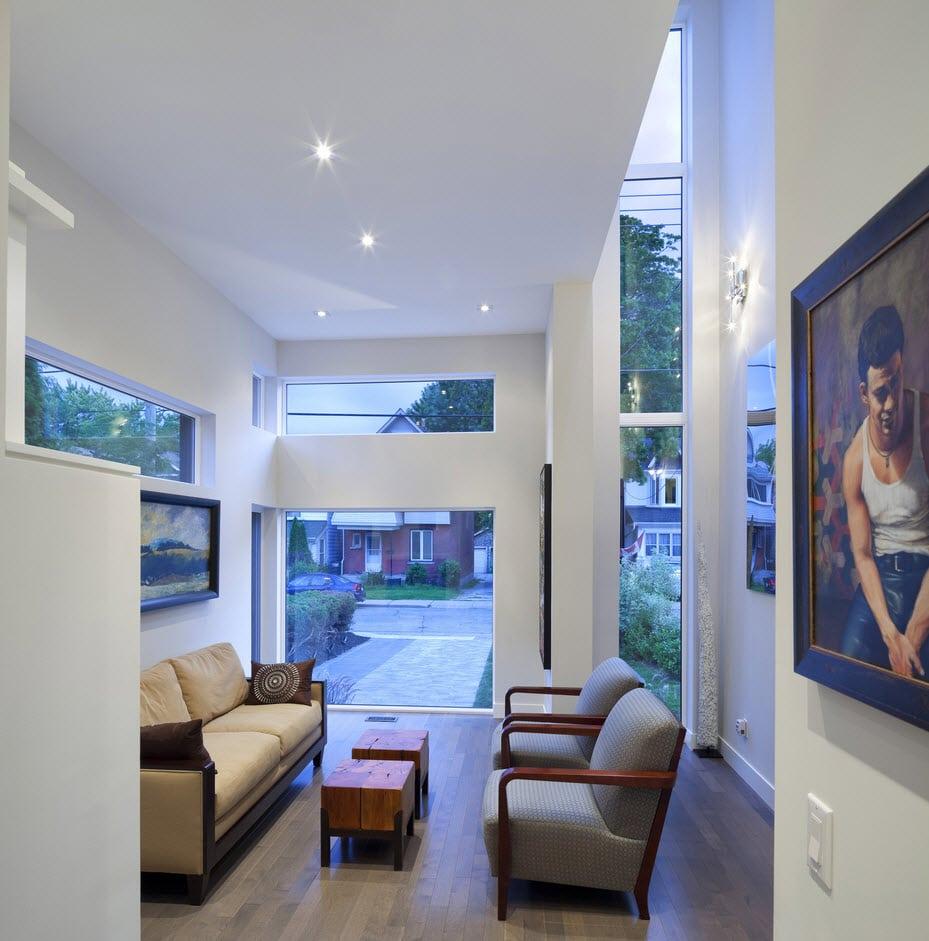 Planos de casa de dos pisos con fachadas e interiores on Interiores De Casas Modernas  id=57797